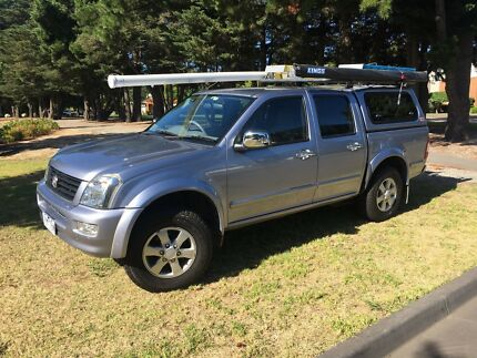 2006 Holden Rodeo LT  4x2 manual