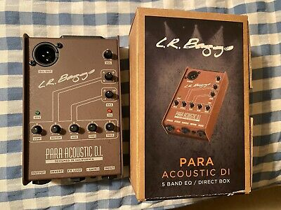 Used L.R. Baggs Para Acoustic DI Box Free Shipping