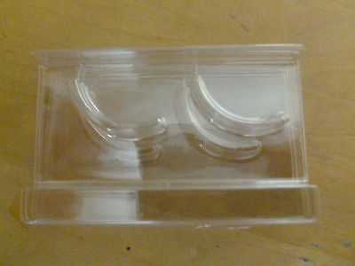 New Plastic Tray Holder Clear ( for single set lashes ) 100 pieces
