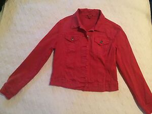GUESS Jean Jacket (Red)
