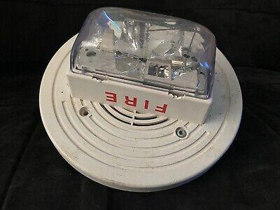Simplex 4906-9256 Fire Alarm Truealert Speakerstrobe Ceiling White