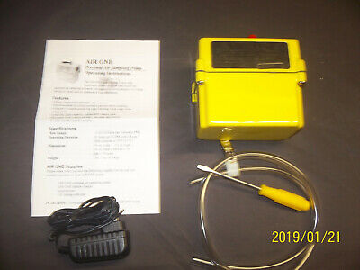 New Improved Air One Sampling Pump Kit W New Fast Charger