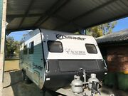 Crusader Excalibur caravan Eagle Farm Brisbane North East Preview