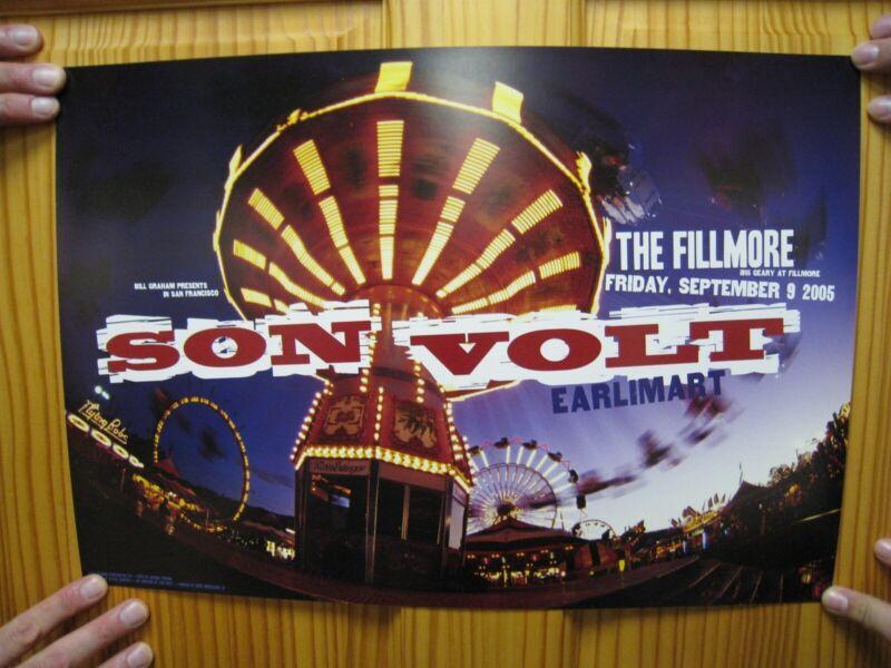 Son Volt Poster Member of Uncle Tupelo Fillmore Earlimart 2005 Jay Farrar