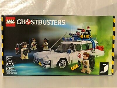 LEGO Ghostbusters Ecto-1 21108 New Is Sealed Box *RETIRED*