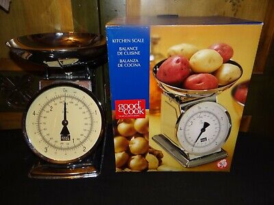 VTG Retro Style Mechanical Good Cook Measuring Food Weight Scale Analog Metal