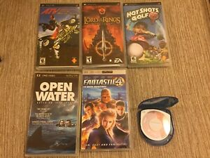 PSP and DS games