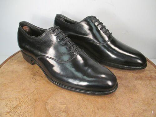 Frank Brothers Spade Sole Plain Toe Oxford Size 8.5 D/B circa 1940s