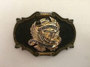 Harley Davidson Belt Buckle 1978