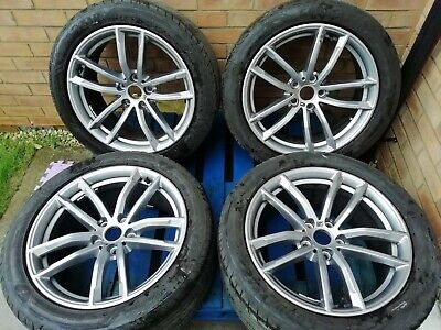 "Bmw Alloy Wheels 18"" Style 662 With Tyres G30 G31 5 Series"