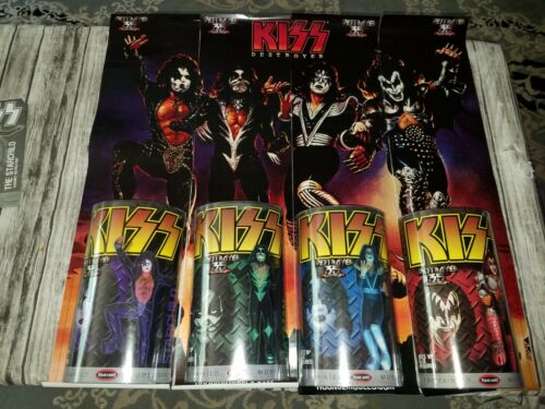 KISS Polar Lights Destroyer Action Figures Set