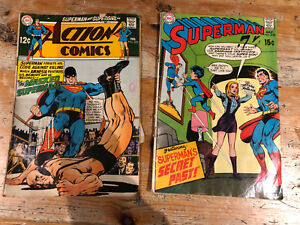 Superman and action comics #218,372 for sale