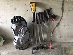 Custom golf set