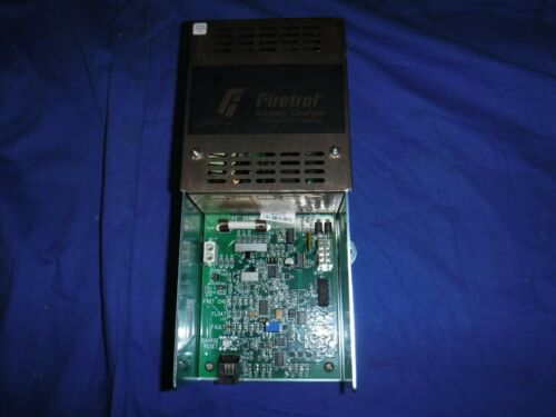 Firetrol Battery Charger 200 amp hour LL-1580 AS-2001 Mark II XG Emerson