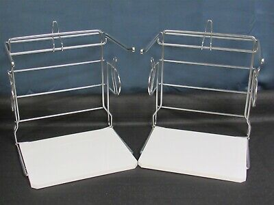 Lot Of 2 New Hilex Quickmate Grocery Store Shopping Bag Holder 777-2868