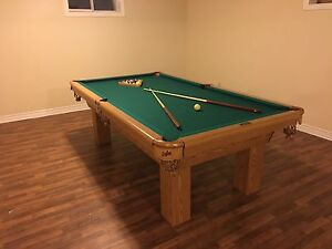 Dufferin pool table and ping pong table  $1450