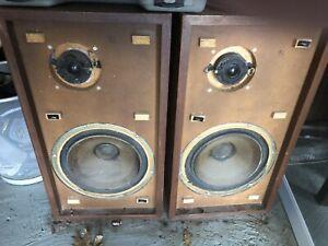 Vintage KLH Model 6 Speakers , 2-Way