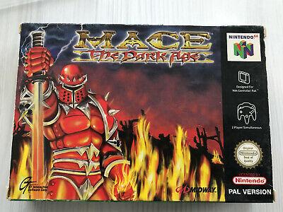 MACE THE DARK AGE NINTENDO 64 N64 PAL CIB FRA