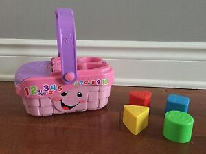 Fisher Price Singing Picnic Basket