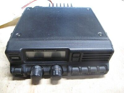 Vertex Standard Vx-4000l Vx-4000 Low Band Mobile Radio 37-50 Mhz With Microphone