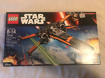 LEGO 75102 Star Wars Poe's X-Wing Fighter BRAND NEW AND SEALED 67