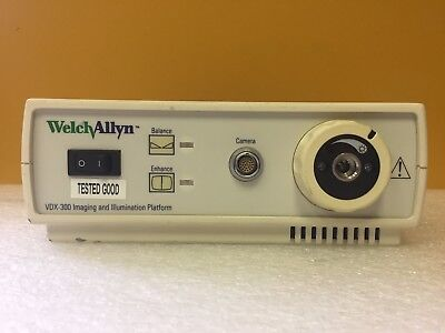 Welch Allyn Vdx300 100 To 240 Vac 1.3 A Imaging Illumination Platform. Tested