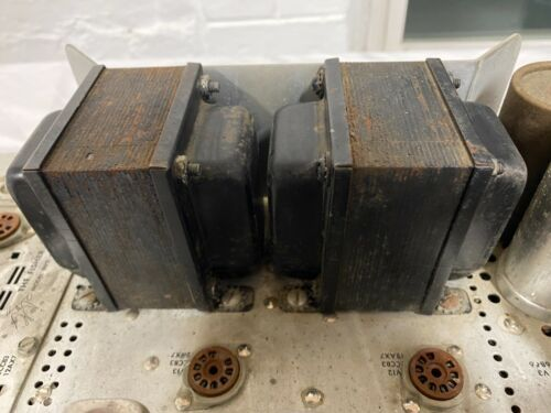 Fisher 400 Output Transformers Pair Good Receiver Tube Amplifier