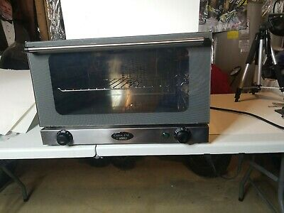 Cadco Ltd. Unox Countertop Commercial Convection Oven Xa006 Type Xa