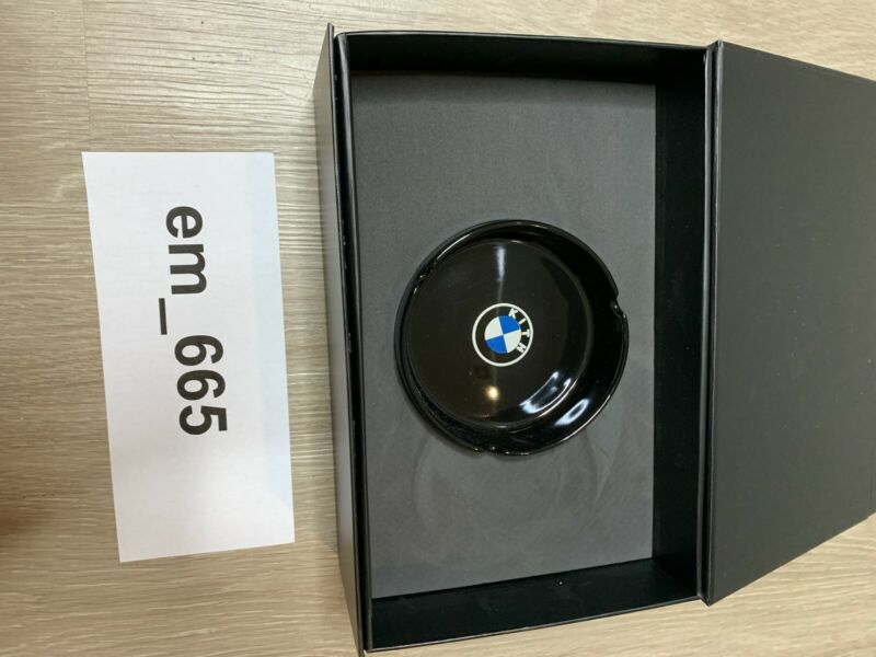 Kith x BMW Ceramic Tray Ashtray Black FW2020 New In Box