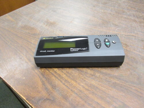 Square D PowerLogic Circuit Monitor CMDLC 12V Ser: D4 Used