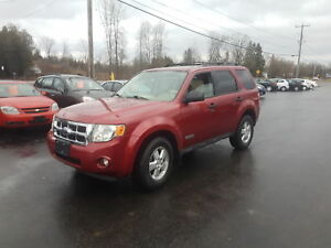 2008 Ford Escape XLT 4cyl fwd safetied