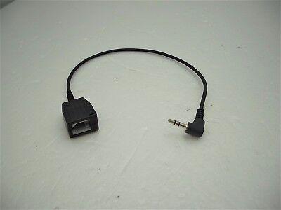 RJ9 Modular Conector A 3.5mm Enchufe Adaptador Para Teléfono Headsets Alcatel IP