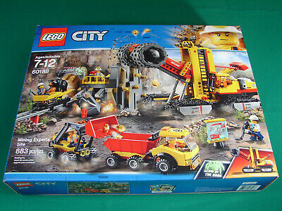 LEGO City 60188 Mining Experts Site (New, 2018, 883 pieces)
