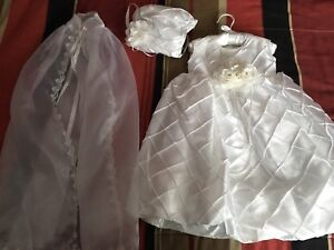 Baptism Dress - Size 3m (Fits Big)