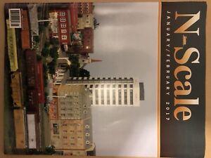 Model railroad magazines. N scale