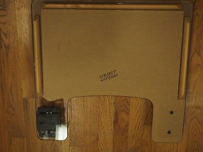 NEW SUNRISE MEDICAL AES WHEELCHAIR Tray WCT500 with Thera Fin clamp HARDWARE