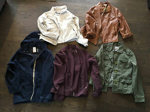 Ladies jackets, brand name (Champion, Columbia, old navy, etc)