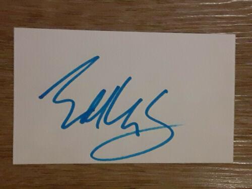 EDDIE VAN HALEN GUITARIST AUTOGRAPHED SIGNED 3X5 INDEX CARD TODD MUELLER COA