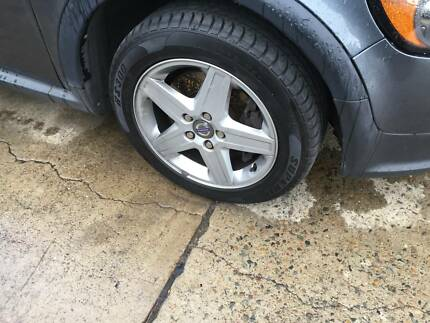Volvo Alloy Wheels Rims And New Tyres 2055516 5 X108 Pcd Wheels