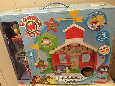 New Wonder Pets Schoolhouse Adventure Talking Playset With 3 Wonder Pets & More