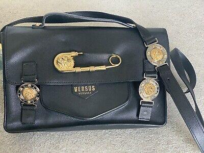 Versus Versace Satchel Saffiano Bag