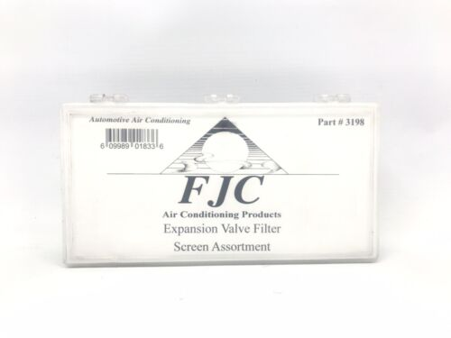 FJC 3198 13 Piece Expansion Valve Filter Screen Assortment New