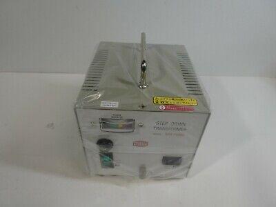 Nissyo Sdx-1500u Step Down Transformer Voltage Converter 120v To 100v