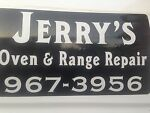 Jerry's Appliance parts