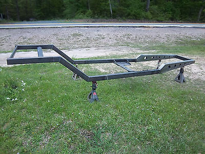 Rat Rod, Street Rod Stage I, Fabricated Spring Behind Chassis