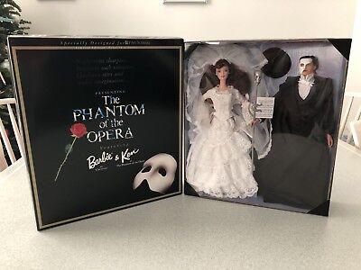 "FAO Schwarz ""Phantom Of The Opera"" Ken & Barbie Dolls NRFB"