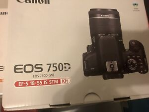 【brand new】Canon T6i  with lens