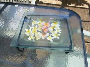 Glass Display Bowl With Wrought Irorn Stand Padbury Joondalup Area Preview