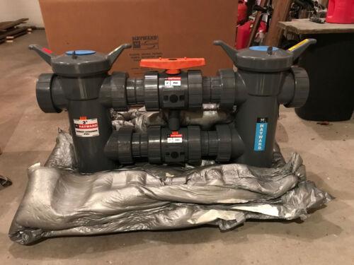 NEW IN BOX HAYWARD DB1300FE DUPLEX INDUSTRIAL WATER FILTER W / 2 FILTER BASKETS