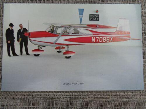 Vintage 1962 Cessna 150 Unused Dealer